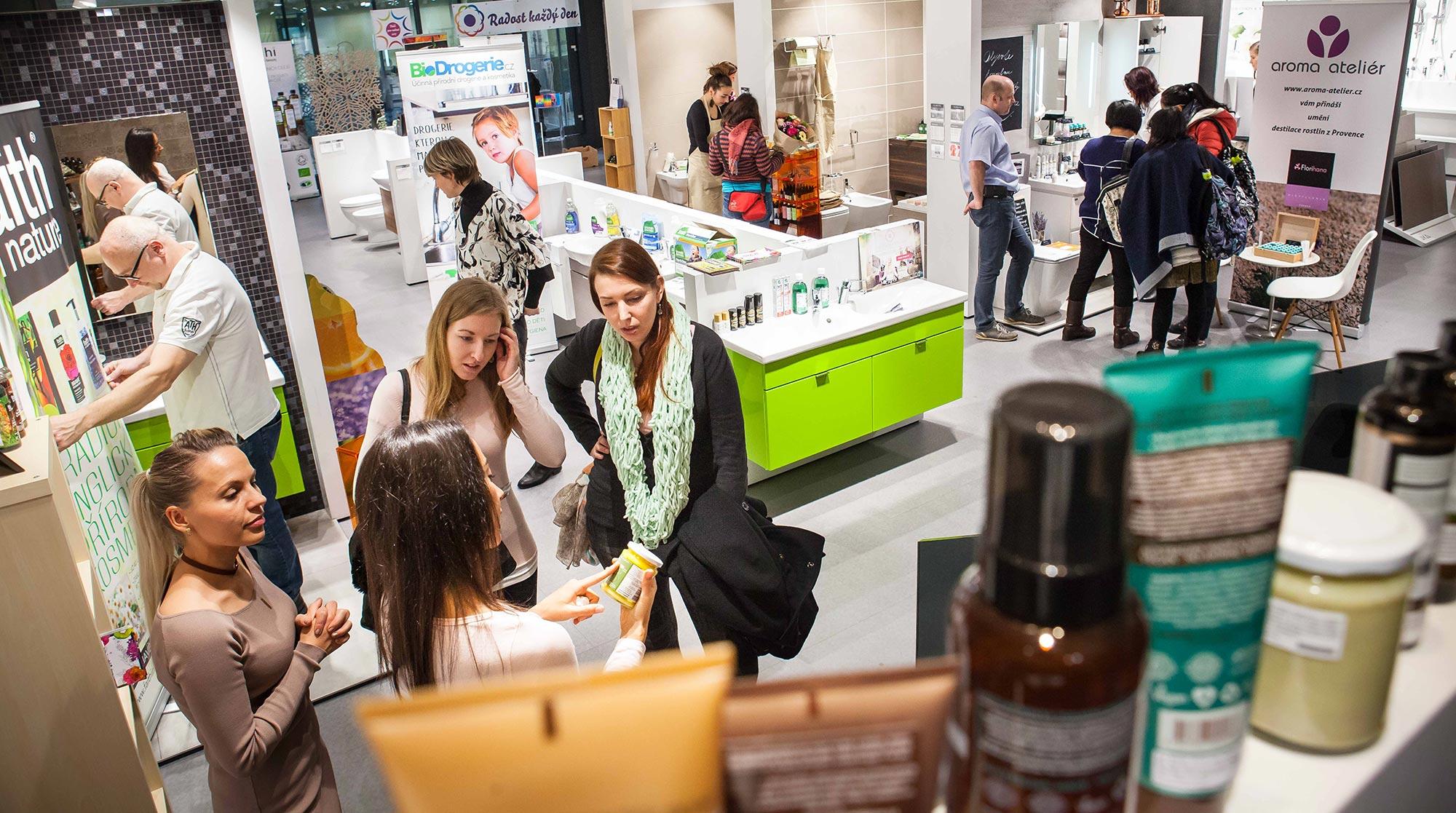 Green Beauty Market Festival Green Beauty Market má ambice být největším pop-up shopem svého druhu v Evropě a rozšířit své působení i do dalších měst po celé ČR.